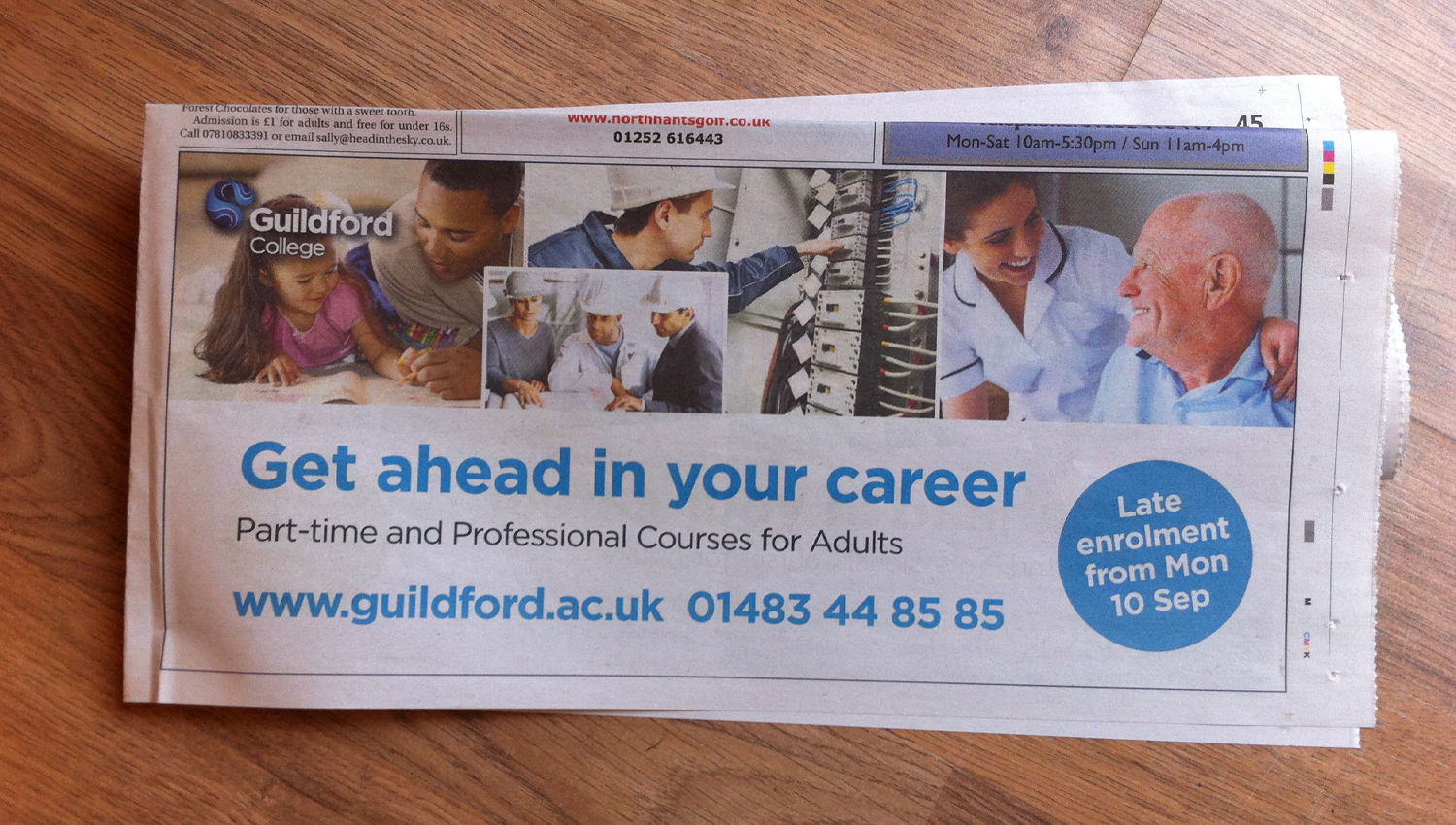 Guildford College Group – Adverts