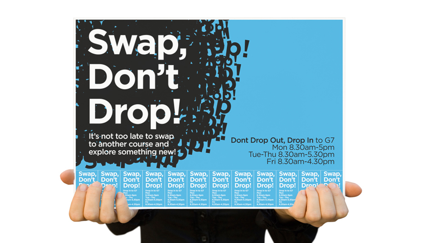 Swap Don't Drop Campaign